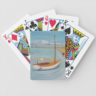 Enzo the Wave Chasing Poodle, Provincetown Product Bicycle Poker Cards