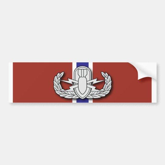 EOD Bronze Star Bumper Sticker