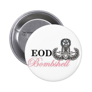 eod master bombshell pinback buttons