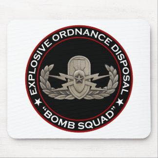 """EOD Senior """"Bomb Squad"""" Mousepad"""