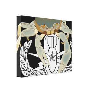 EOD Senior Crab Canvas Print