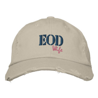 EOD, Wife Embroidered Baseball Cap
