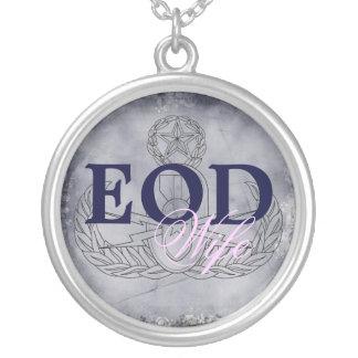 EOD Wife pink/dark blue Necklace