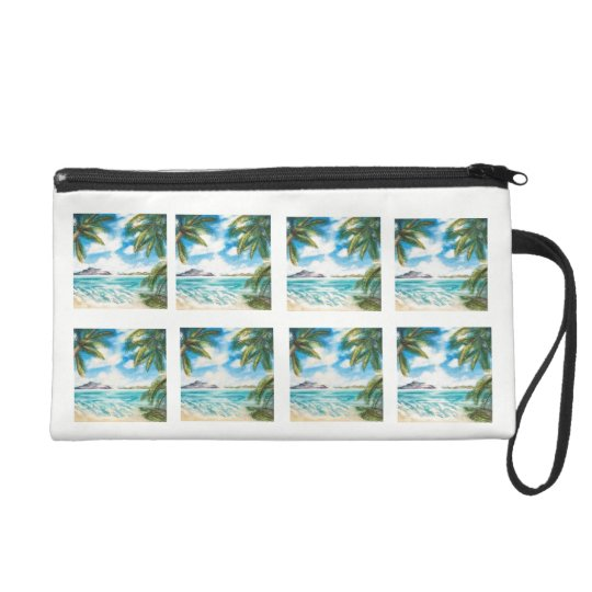 Eon Isle: Morning Shore Wristlet Purse