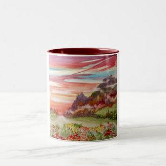"""""""Eon Isle: Sunset Mountain"""" Mug 11 oz."""