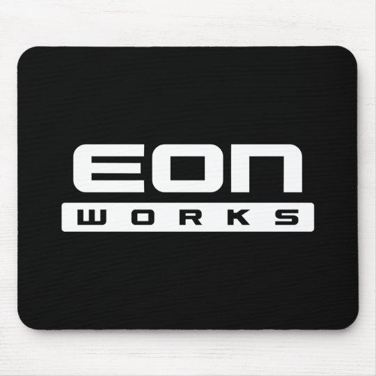 Eon Works black mousepad