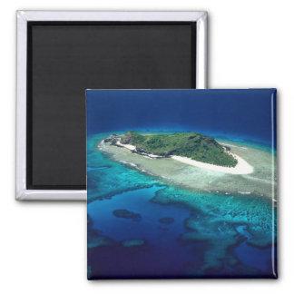 Eori Island Mamanuca Islands Fiji - aerial Refrigerator Magnets