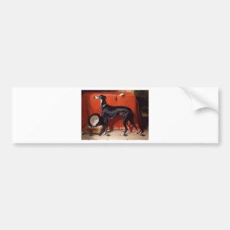 Eos, A Favorite Greyhound of Prince Albert Bumper Sticker