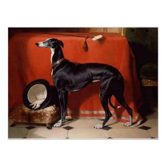 Eos, A Favourite Greyhound of Prince Albert Poster