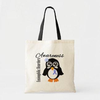 Eosinophilic Disorders Awareness Penguin Budget Tote Bag