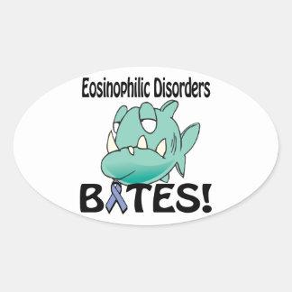 Eosinophilic Disorders BITES Oval Sticker