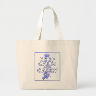 Eosinophilic Disorders Keep Calm and Carry ON Canvas Bags