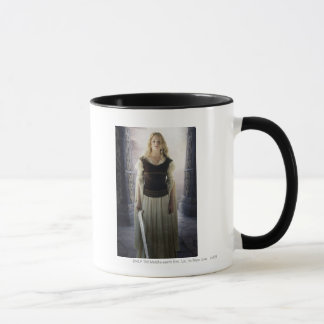 Eowyn with sword mug