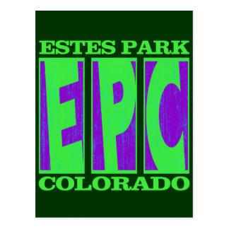 EPC ESTES PARK COLORADO POSTCARD
