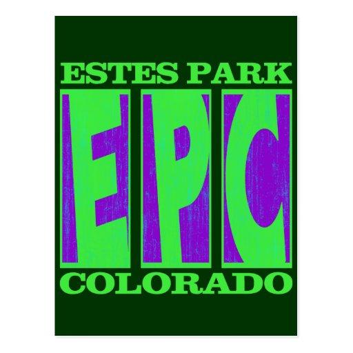 EPC ESTES PARK COLORADO POST CARD