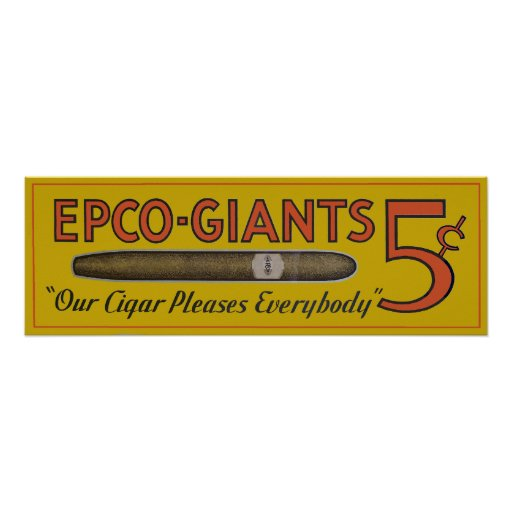 Epco-Giants-Poster Poster