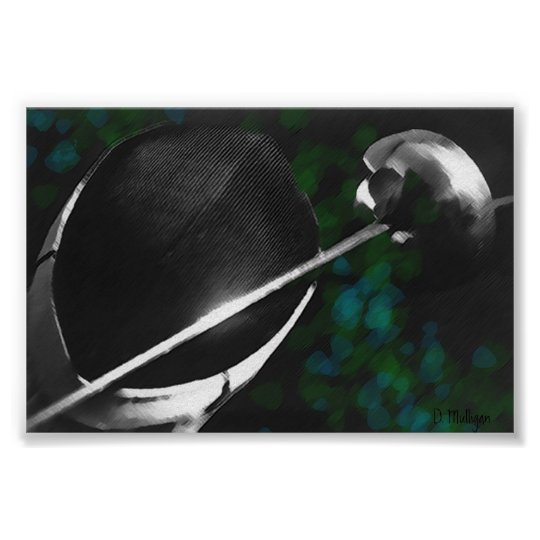 Epee and Mask Still Life POSTER