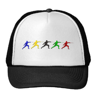 Epee Fencers Fencing Mens Athlete Womens Sports Cap