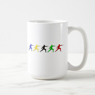 Epee Fencers Fencing Mens Athlete Womens Sports Classic White Coffee Mug