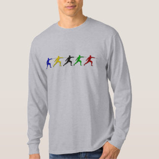 Epee Fencers Fencing Mens Athlete Womens Sports T-Shirt