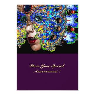 EPHEMERAL Sweet 16 Masquerade Ball 13 Cm X 18 Cm Invitation Card