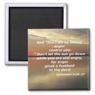 Ephesians 4:26-27 magnet