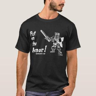 Ephesians 6:11 Catapult Carnage Knight T-Shirt