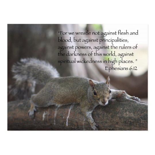 Ephesians 6:12 Postcard
