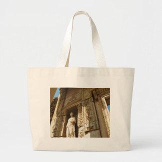 Ephesus Turkey - Celsius library at Ephesus Large Tote Bag