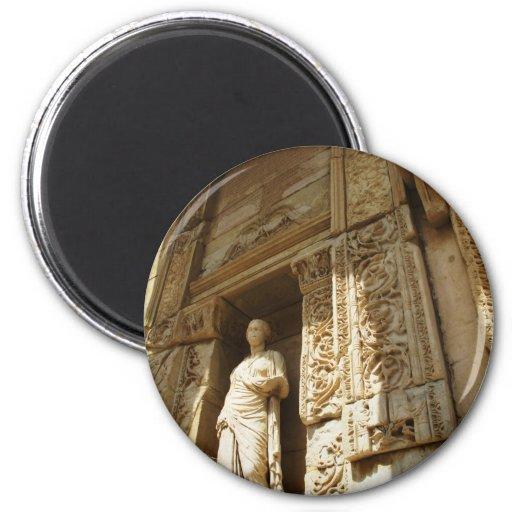 Ephesus Turkey - Celsius library at Ephesus Magnets