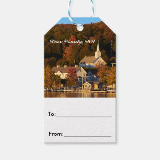 Ephraim, Wisconsin at Sunset Gift Tag