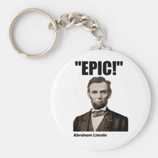 Epic Abraham Lincoln Key Chains