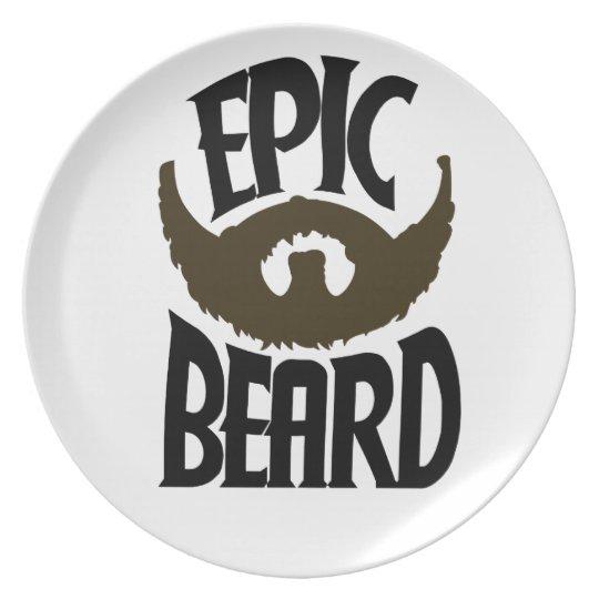 Epic Beard Plate