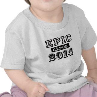 Epic circa 2014 Black Tee Shirts