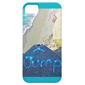 Epic Coast Graffiti Jump iPhone Case Barely There iPhone 5 Case