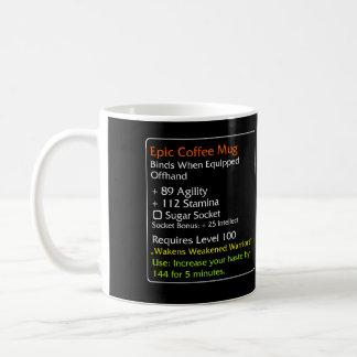 Epic Coffee mug Black