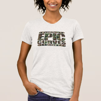 EPIC CURVES - Savage Amazonian Warrior Physique Tshirt