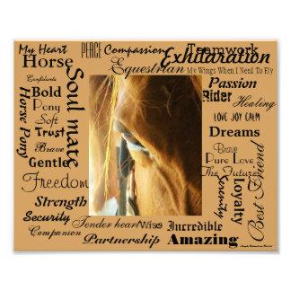 Epic Description of Horses Art Photo