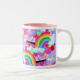 Epic Eighties Explosion Two-Tone Coffee Mug
