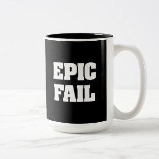 Epic Fail Two-Tone Mug