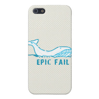 Epic Fail Whale Case For iPhone 5