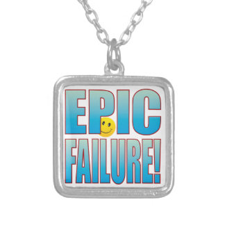 Epic Failure Life B Silver Plated Necklace