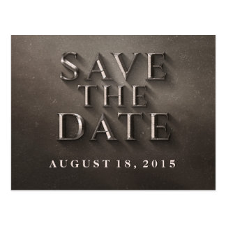 Epic Film Poster Style | Movie Buff Save the Date Postcard