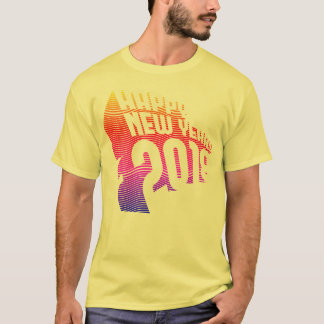 Epic Happy New Years 3D Gradient T-Shirt