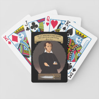 Epic Hero James Bowie Bicycle Playing Cards