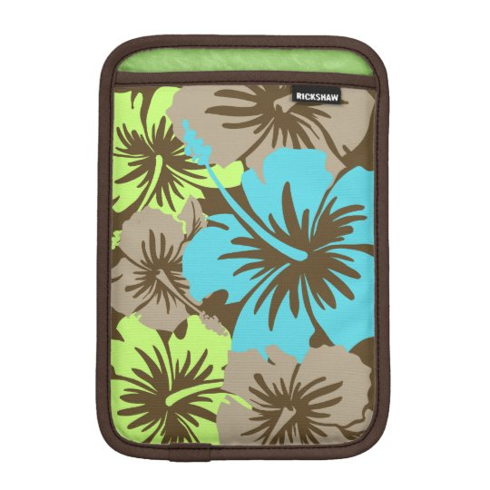 Epic Hibiscus Hawaiian Floral iPad Mini Sleeves