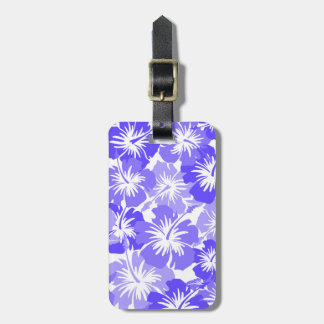 Epic Hibiscus Hawaiian Floral Luggage Tag