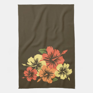 Epic Hibiscus Hawaiian Kitchen Towel
