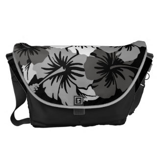 Epic Hibiscus Hawaiian Large Messenger Bag