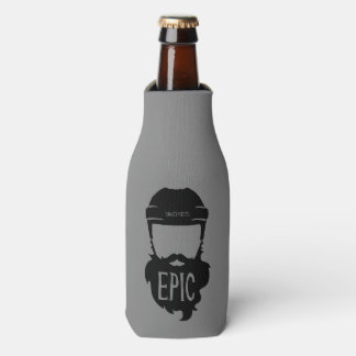 Epic Hockey Playoff Beard Bottle Cooler